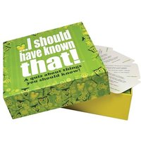 I Should Have Known That! Quiz Game - Quiz Gifts