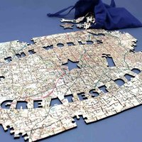 Personalised Greatest Dad OS Map Jigsaw Puzzle - Jigsaw Puzzle Gifts