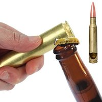 50 Calibre Bullet Bottle Opener - Bottle Opener Gifts