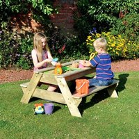 Kids Picnic Bench Sand Pit - Picnic Gifts