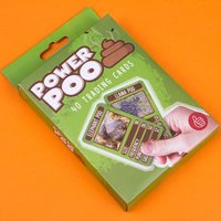 Power Poo Trading Cards - Poo Gifts