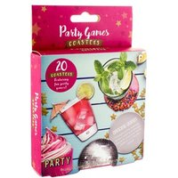Party Games Coasters - Games Gifts