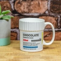 Hot Chocolate Pill Pot Mug - Hot Chocolate Gifts