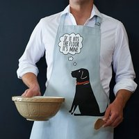 Labrador 'If It Hits The Floor It's Mine' Apron - Labrador Gifts