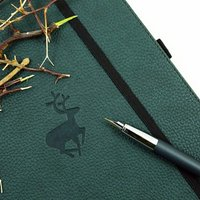 Vegan Stag Notebook - Stag Gifts