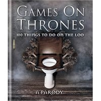 Games on Thrones Loo Book - Games Gifts