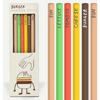 Burger Colouring Pencils