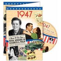 DVD Greeting Card 1947 or 70th Birthday - 70th Birthday Gifts