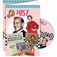 DVD Greeting Card 1957 or 60th Birthday - 60th Birthday Gifts