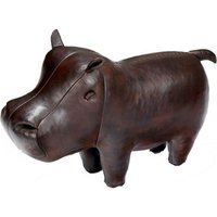 Handmade Leather Hippo - Small - Hippo Gifts