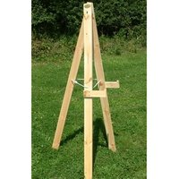 Archery Target Stand Plain wood - Archery Gifts