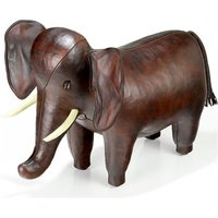 Handmade Leather Elephant - Medium - Handmade Gifts
