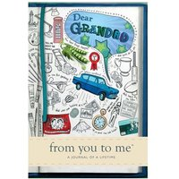 Dear Grandad Book - From You to Me Journal - Grandad Gifts