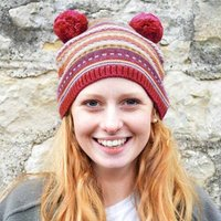 Fair Isle Bobble Hat Beanie - Beanie Gifts
