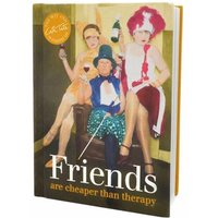 Friends Are Cheaper Than Therapy Book - Books Gifts