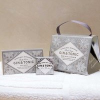 Gin & Tonic Lip Balm & Bath Salts Gift Handbag - Lip Balm Gifts