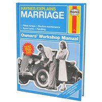 Haynes Explains Marriage - The Manual - Books Gifts