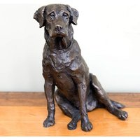 Labrador Bronze Sculpture - The Present Finder Gifts