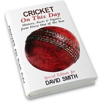 Personalised Cricket On This Day Book - Cricket Gifts