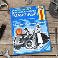 Personalised Haynes Explains Marriage - Books Gifts