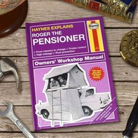 Personalised Haynes Explains Pensioners - Books Gifts