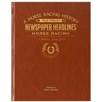 Personalised Horse Racing History Book - Books Gifts