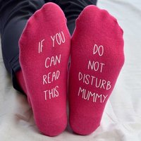 Personalised If You Can Read This Socks For Her - Read Gifts