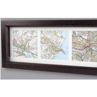 Personalised Map Memories Trio - Memories Gifts