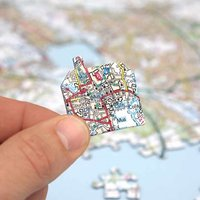 Personalised OS Map Jigsaw Puzzle - Jigsaw Puzzle Gifts
