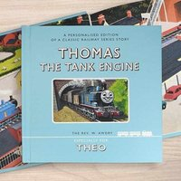 Personalised Thomas The Tank Engine Book in Gift Box - Books Gifts