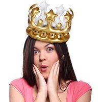 Queen For The Day Inflatable Crown - Inflatable Gifts