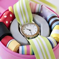 Ribbon Watch for Children - our TOP selling present ever! - Present Gifts