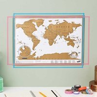 Scratch Map Travel Edition - Maps Gifts