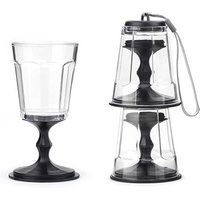 Stacking Portable Wine Glass Set - Wine Glass Gifts