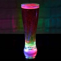 Multi Coloured Strobing Beer Glass - Beer Glass Gifts