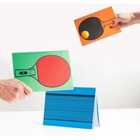 Table Tennis Notepads - Table Tennis Gifts