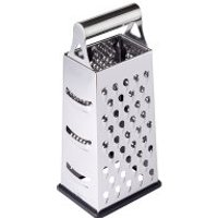 Waitrose Cooking Stainless Steel Box Grater