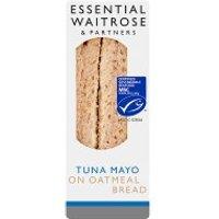 essential Waitrose MSC tuna mayonnaise sandwich