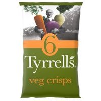 Tyrrells 6x veg crisps