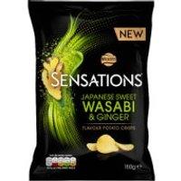 Walkers Sensations Wasabi & Ginger