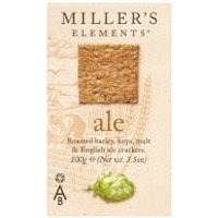 Millers Ale beer crackers for cheese