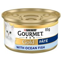 Gourmet Gold Tinned Cat Food Pate With Ocean Fish