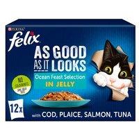 Felix As Good As It Looks Cat Food Ocean Feasts