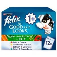 Felix As Good As It Looks Cat Food Veg
