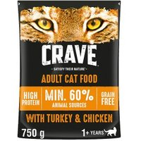 Crave Cat with Turkey & Chicken