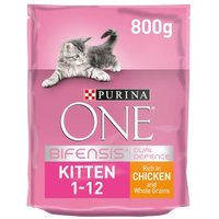Purina ONE Kitten Dry Cat Food Chicken and Wholegrain