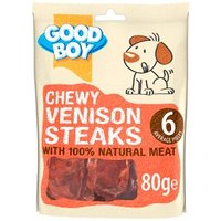Good Boy Venison Steaks