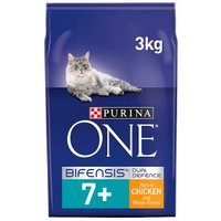 Purina ONE Senior 7+ Dry Cat Food Chicken