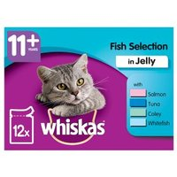 Whiskas 11+ Fish Selection in Jelly