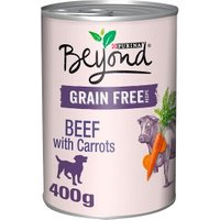 Beyond Grain Free Dog Food Beef with Carrots